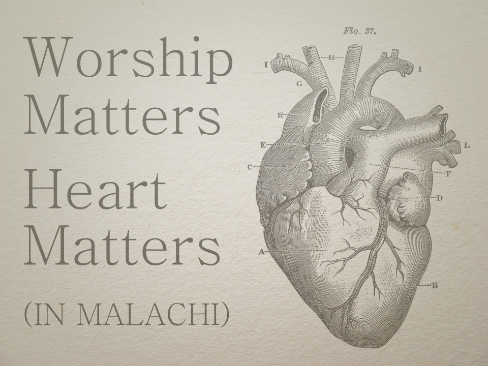 Malachi Sermon Series